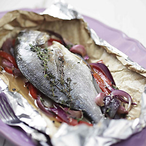 Bream Papillote