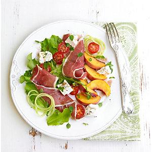 Peach & Parma Ham Salad
