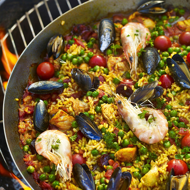 Easy Paella in recipes at Lakeland