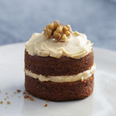 Mini Cake Recipes With Pictures : Mini Coffee & Walnut Cakes in Cake recipes at Lakeland