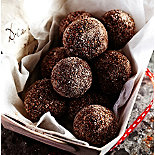 Cinnamon Chocolate Truffles