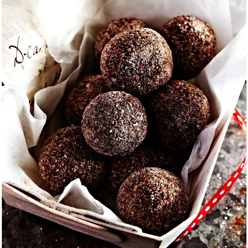 Cinnamon Chocolate Truffles