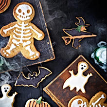 Halloween-Kekse - Einfache Vanilleplätzchen