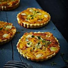 Pumpkin & Gruyere Tartlets