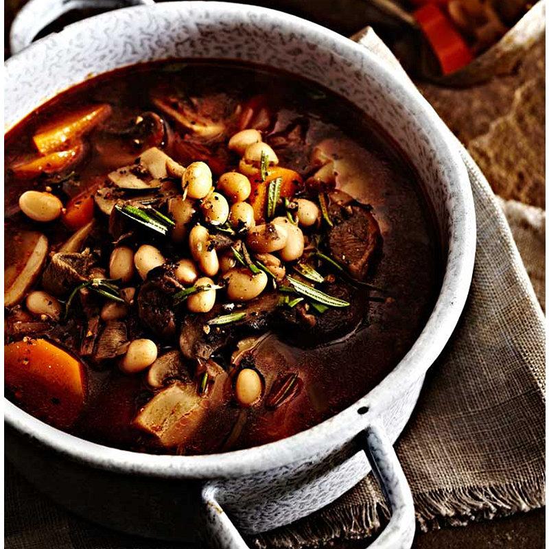 Hearty Mushroom Soup