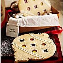 Giant Bauble Cookies