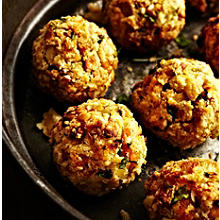 Apricot and Chestnut Stuffing Balls
