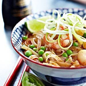 Tom Yum Prawn Noodle Soup
