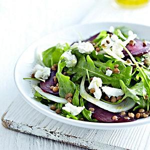 Beetroot, Fennel & Lentil Salad