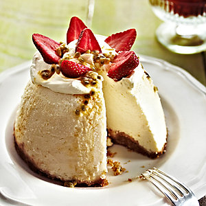 Soured Cream Cheesecake