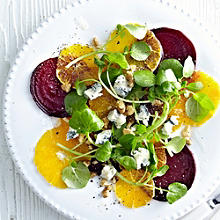 Orange, Beetroot & Watercress Salad