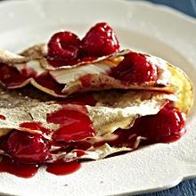 Raspberries and Cream Pancake Filling