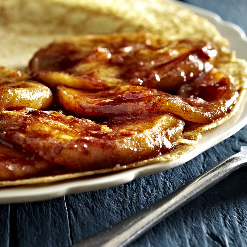 Homepage recipes Pancake recipes Spiced Apple Pancake Filling