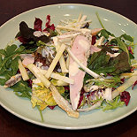 Caesar Salad with Smoked Chicken