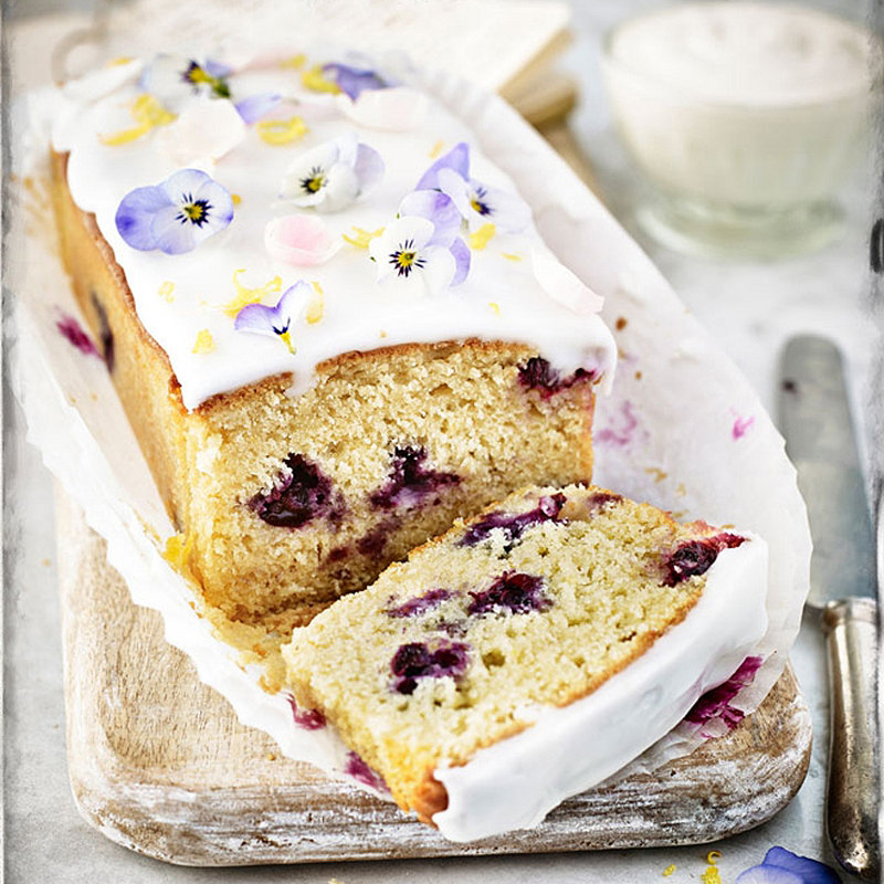 Blueberry And Lemon Curd Loaf Recipes Lakeland