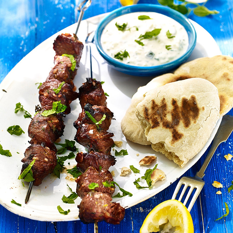 Lamb Souvlaki in recipes at Lakeland