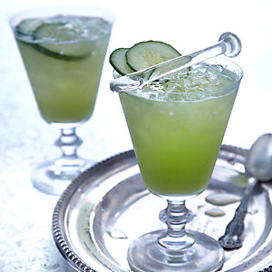 Elderflower, Cucumber & Lime Cooler