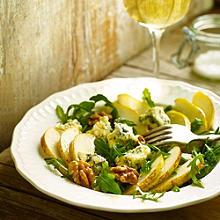 Pear, Walnut & Blue Cheese Salad