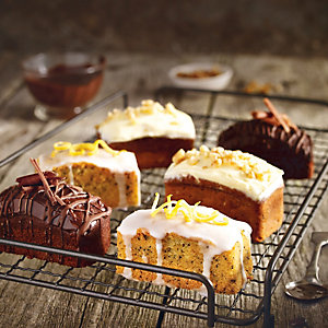 Mini Lemon Drizzle Cakes