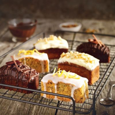 Mini Cake Recipes With Pictures : Mini Lemon Drizzle Cakes in Cake recipes at Lakeland