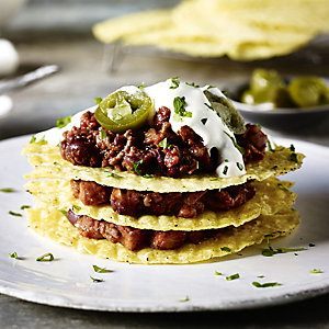 Chilli Con Carne Taco Stacks