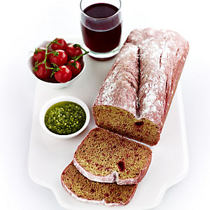 Apple & Beetroot Juice + Beetroot Bread