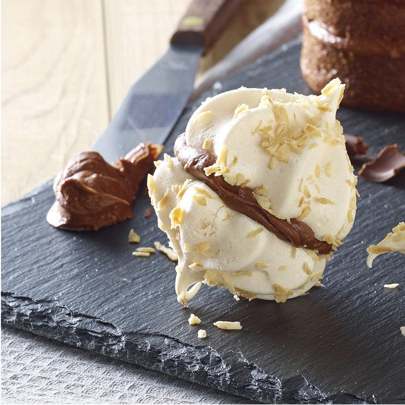 Coconut Meringue Kisses With Chocolate Coconut Buttercream ...