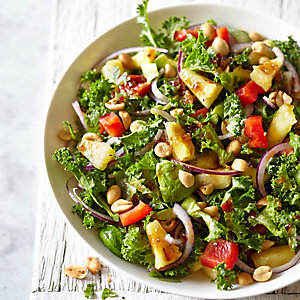 Pineapple, Avocado & Kale Salad