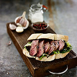 Smoked Steak Sandwich