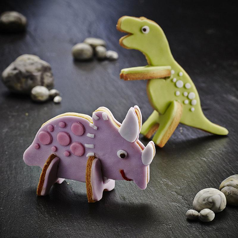 Vanilla Dinosaur Cookies Recipes Lakeland