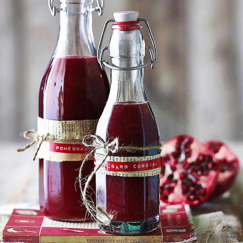 Pomegranate & Rhubarb Cordial Image