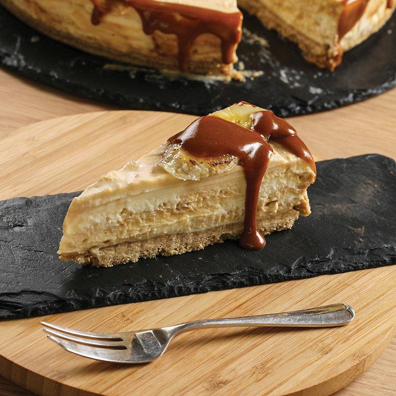 Salted Caramel & Banana Cheesecake | Sweet Treats Recipes ...
