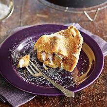The Best Apple Pie With Cream