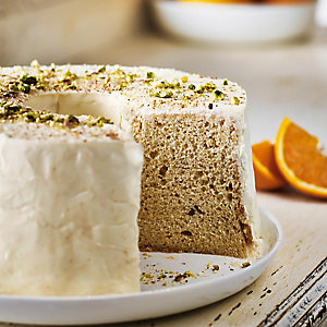 Orange Spiced Chiffon Cake