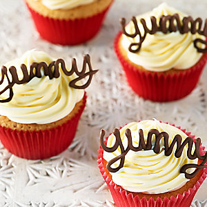 Banana & Coconut Cupcakes