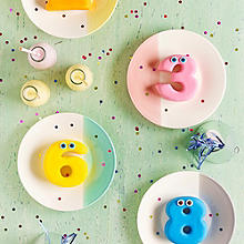 Zahlen-Möhrenkuchen