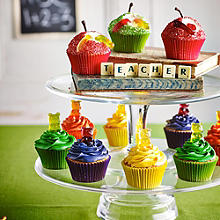 Gummy Bear & Worm Cupcakes