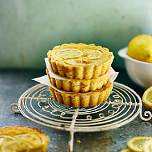 Lemon Tarts With Shortbread Pastry