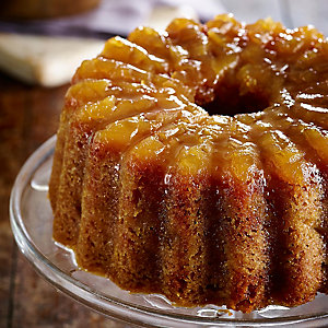 Steamed Ginger & Pear Pudding