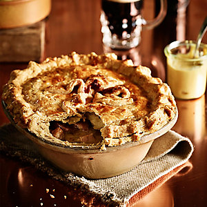 Veal, Ham and Leek Pie