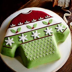 Gingerbread Christmas Jumper Cake
