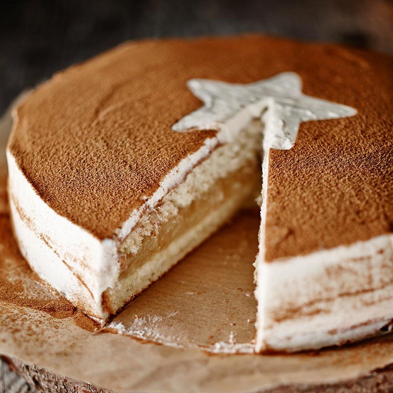 German Apple Cake With Icing