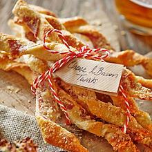 Cheese & Parma Ham Straws