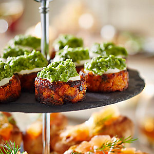 Sweet Potato Rösti With Coriander Pesto
