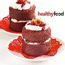Gluten-Free Mini red velvet cakes