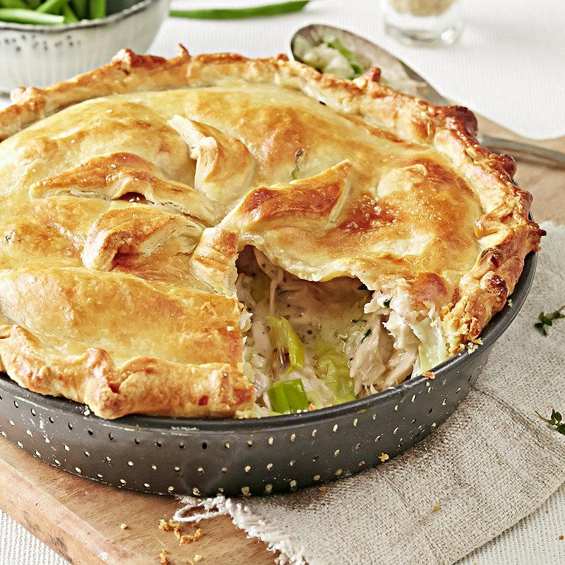 Homepage recipes Chicken, Game and Turkey recipes Chicken & Leek Pie