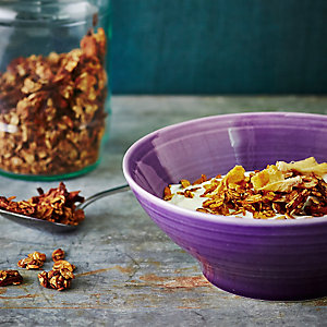 Gluten-Free Granola With Easiyo Greek Yogurt