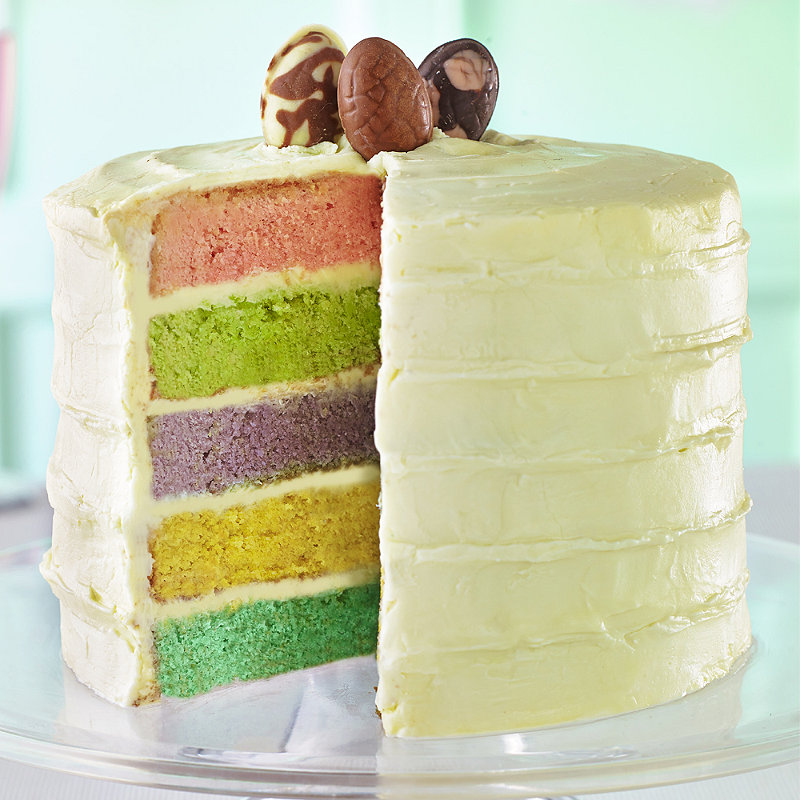Easter Layer Cake in Yummy cakes recipes at Lakeland GCC