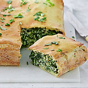 Spinach & Ricotta Pasta Tart