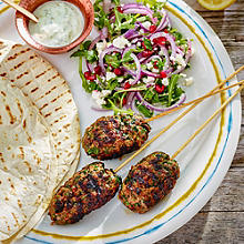 Amazing Minced Lamb Koftas With Yoghurt Dressing